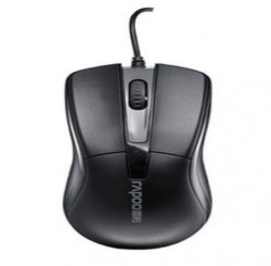 Rapoo N1010 Black Wired Mouse