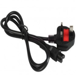 Power Cable Laptop 3pin (Fuse)